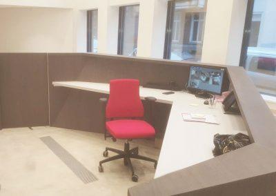 Inrichting kantoor - meubelen op maat - laminaat - Inrichting kantoor - meubelen op maat - laminaat