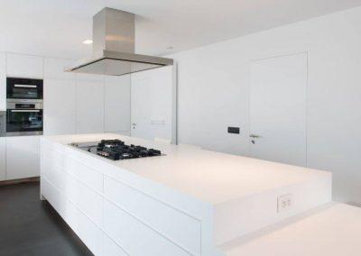 Interieur op maat | Keukenblad solid surface - korian