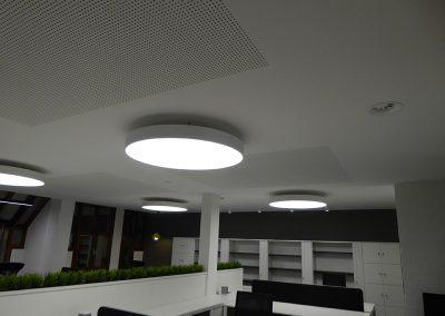Maatwerk interieur - kantoorinrichting - plafond