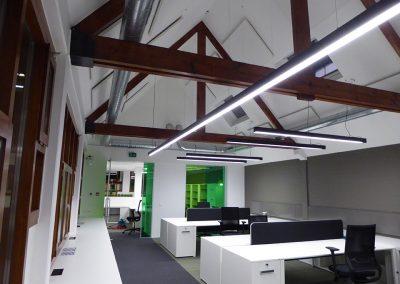 Totaal interieurinrichting voor kantoren