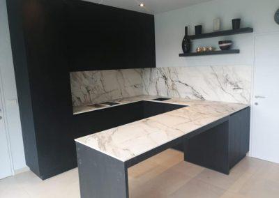 Keuken met Neolith werkblad